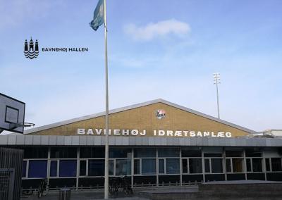 Reference Sporthallen, Bavnehøj