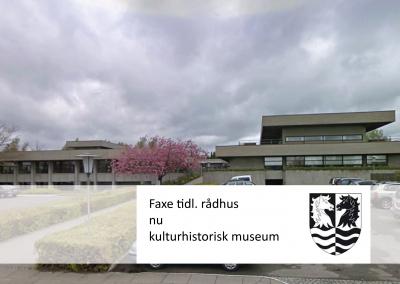 Reference Faxe gl. Rådhus, nu kulturhistorisk museum